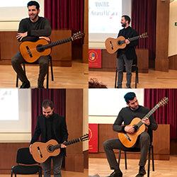 Recital inauguración máster guitarra